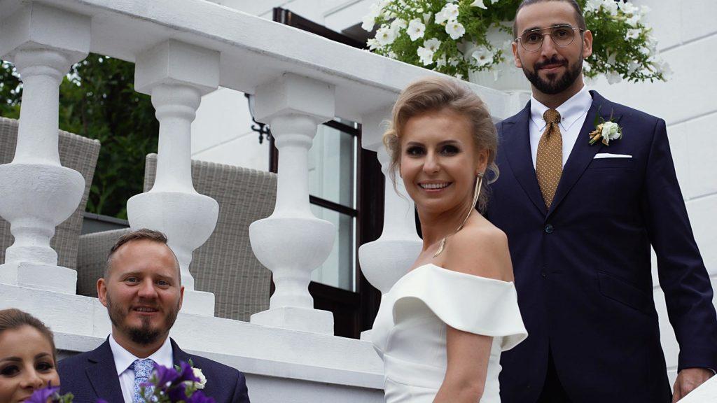 Marta iŁukasz - ślub wzabytkowym dworku