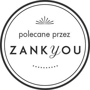 Polecane przez Zankyou. Logo